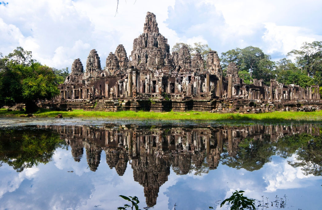 The beautiful temples of Angkor wat