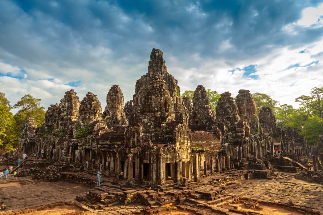 A historic and famous temple in Cambodia