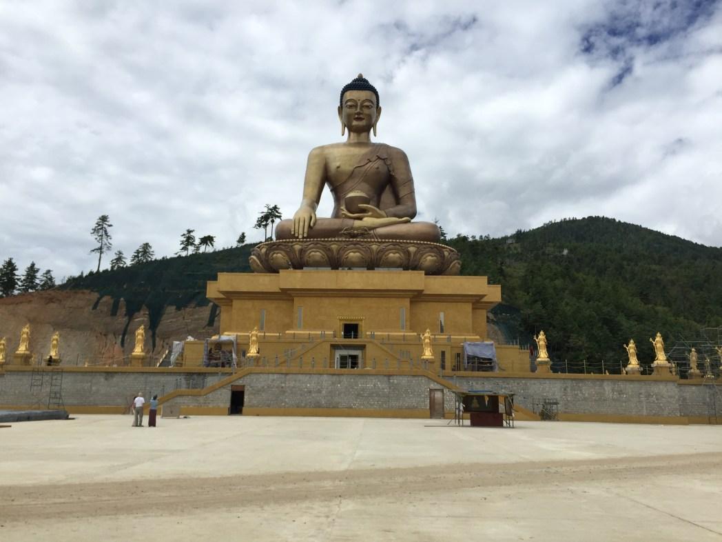 A fabulous landmark in Bhutan