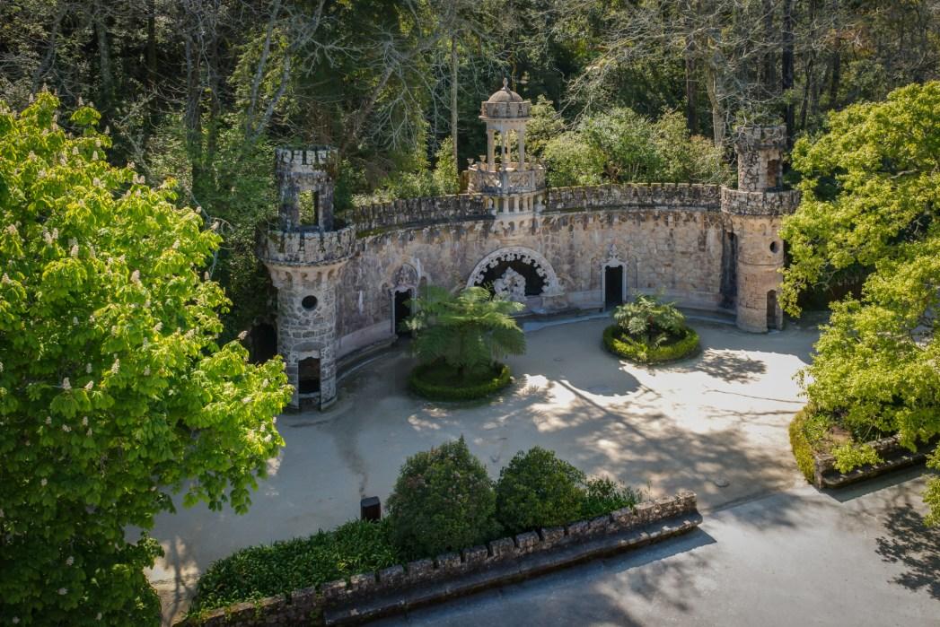 The mysterious palace Quinta da Regaleira