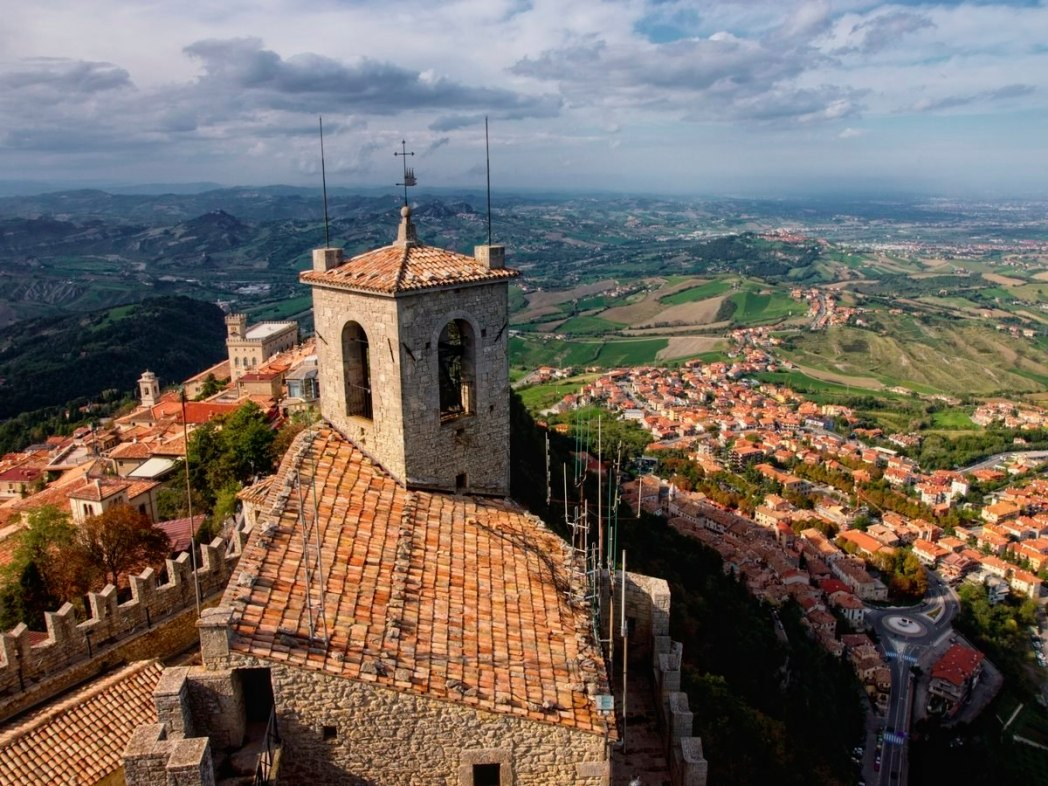 10 least searched countries around the world skyscanner for Flights to san marino italy