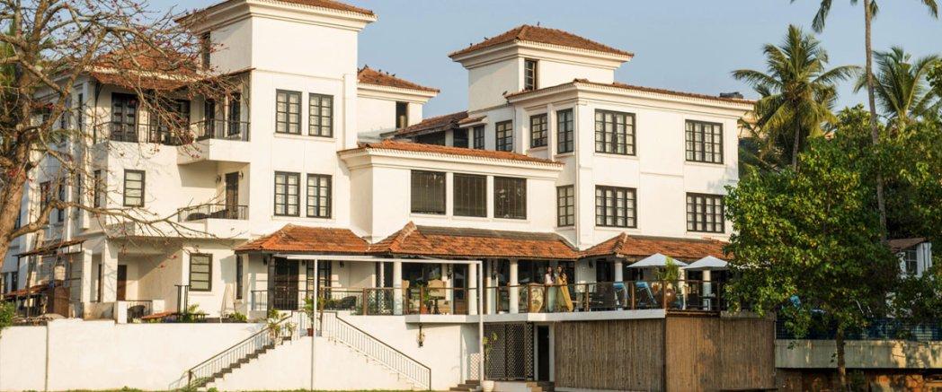 The beautiful facade of Sol De Goa